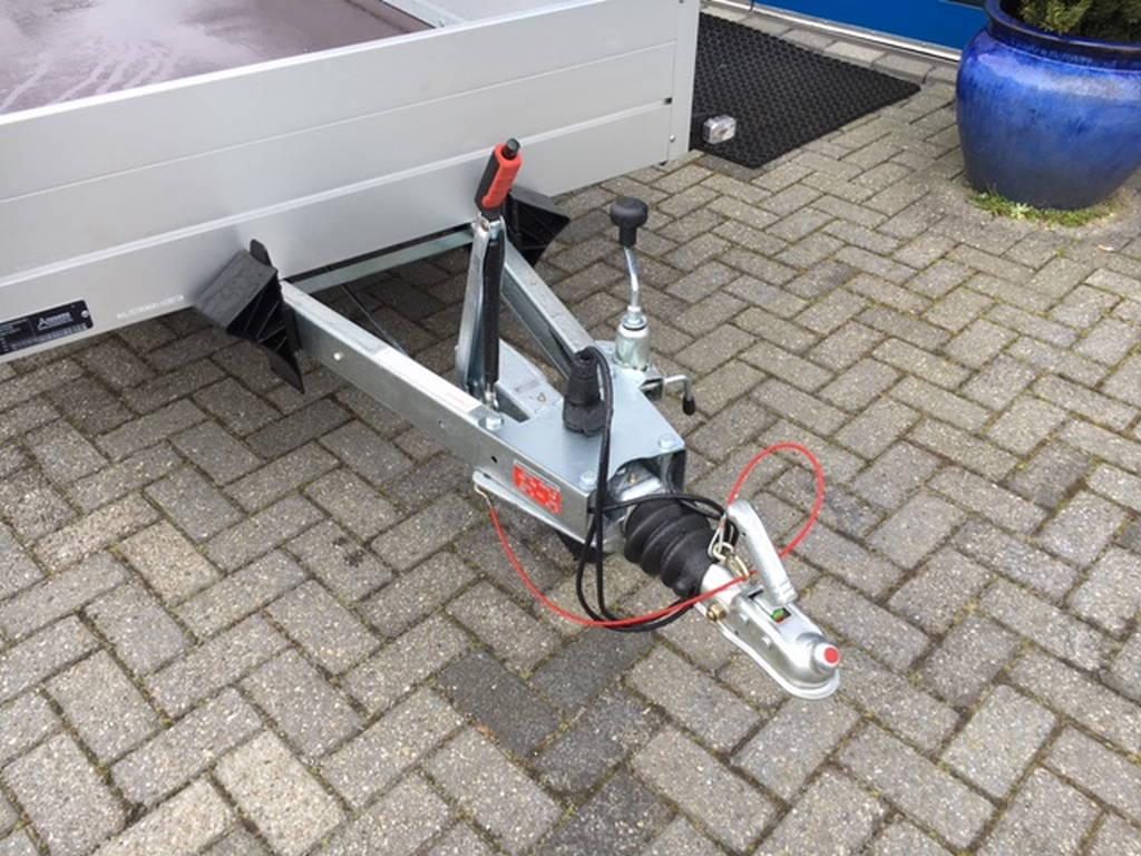 Anssems tandemas 301x126cm bakwagens tandemas Aanhangwagens Zuid-Holland dissel