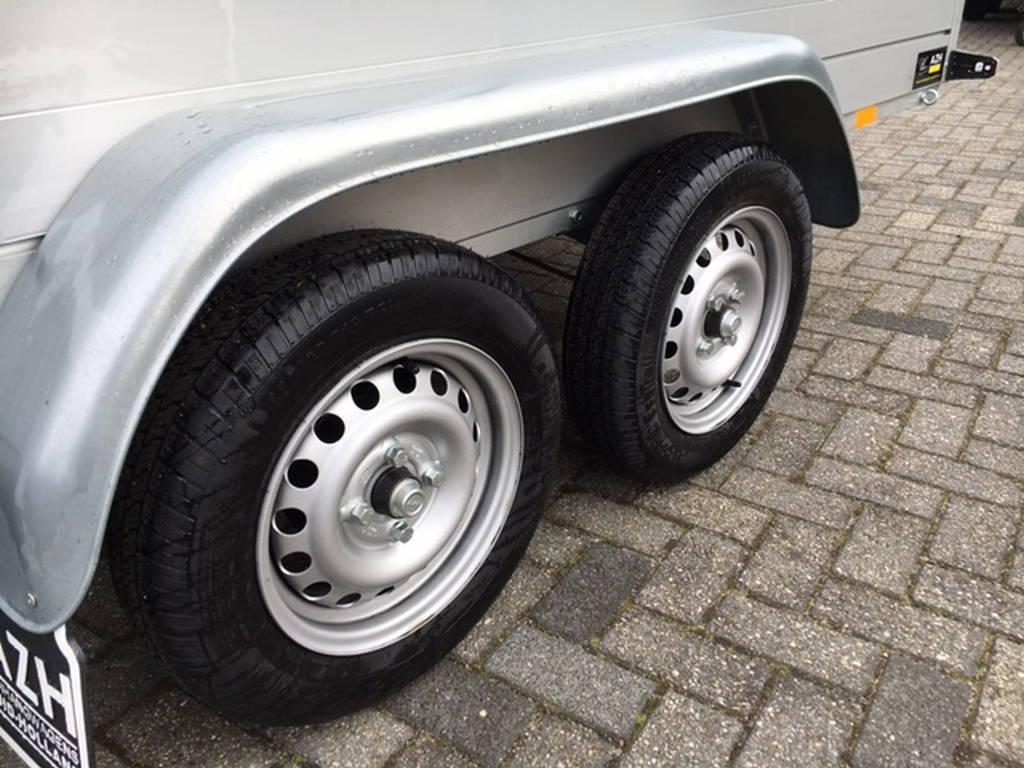Anssems tandemas 301x126cm bakwagens tandemas Aanhangwagens Zuid-Holland dubbele as
