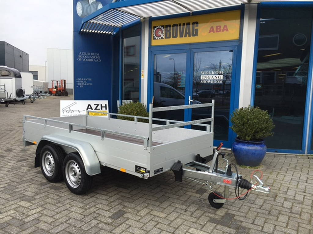 Anssems tandemas 301x126cm bakwagens tandemas Aanhangwagens Zuid-Holland hoofd