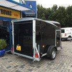 Easyline gesloten motortrailer 300x151x170cm Aanhangwagens Zuid-Holland 2.0 achter dicht