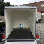Easyline gesloten motortrailer 300x151x170cm Aanhangwagens Zuid-Holland 2.0 steunen