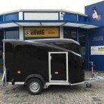 Easyline gesloten motortrailer 300x151x170cm Aanhangwagens Zuid-Holland 2.0 zijkant dicht