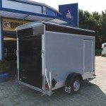 Easyline gesloten motortrailer 302x150x195cm Aanhangwagens Zuid-Holland achterkant gesloten 2.0