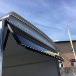 Easyline gesloten motortrailer 302x150x195cm Aanhangwagens Zuid-Holland bovenklep