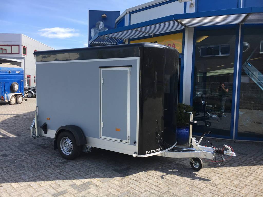 Easyline gesloten motortrailer 302x150x195cm Aanhangwagens Zuid-Holland hoofd 2.0
