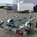 Pega rubberboottrailer 425x170cm Aanhangwagens Zuid-Holland chassis
