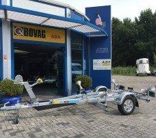 Pega rubberboottrailer 425x170cm Aanhangwagens Zuid-Holland hoofd