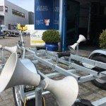 Pega rubberboottrailer 425x170cm Aanhangwagens Zuid-Holland kielrol