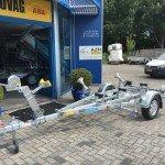 Pega rubberboottrailer 425x170cm Aanhangwagens Zuid-Holland overzicht