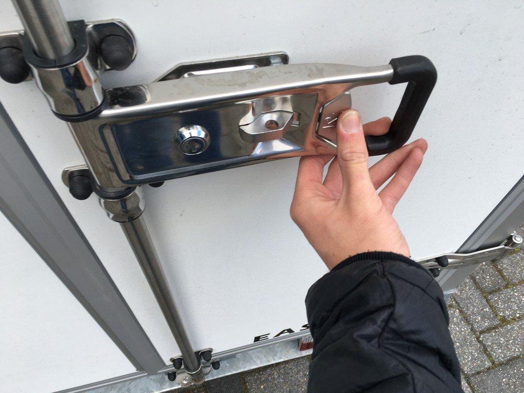 Easyline gesloten 249x122x150cm 750kg Aanhangwagens Zuid-Holland sluiting 2.0