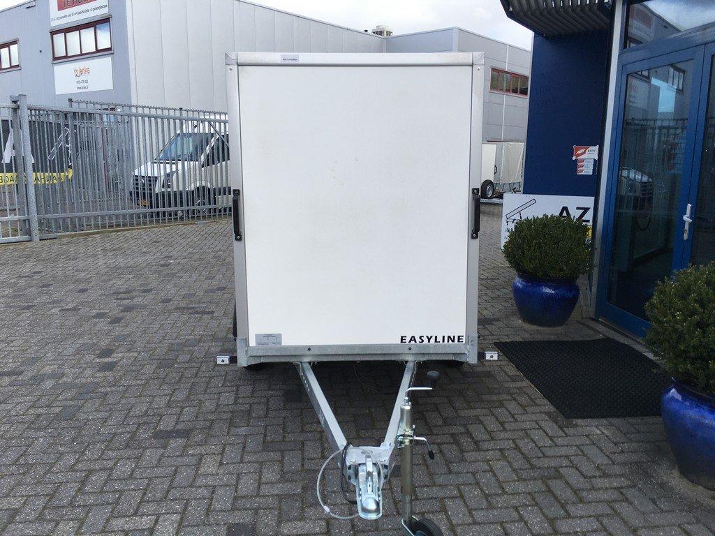 Easyline gesloten 249x122x150cm 750kg Aanhangwagens Zuid-Holland voorkant 2.0