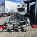 Pega Boottrailer 755x210cm Aanhangwagens Zuid-Holland achterkant