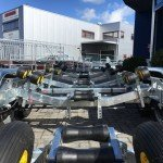 Pega Boottrailer 755x210cm Aanhangwagens Zuid-Holland kielrol achter