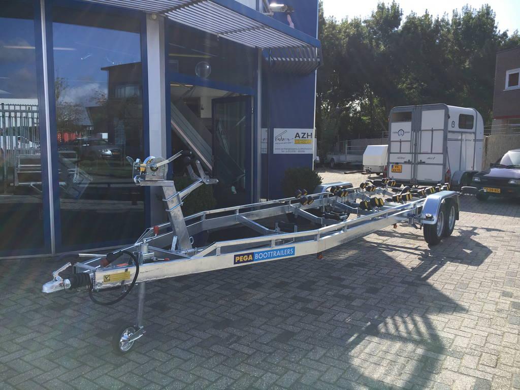 Pega Boottrailer 755x210cm Aanhangwagens Zuid-Holland overzicht
