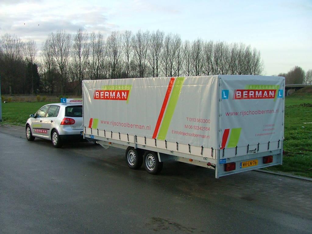 Proline lesaanhanger les aanhangwagen Aanhangwagens Zuid-Holland Berman 3.0