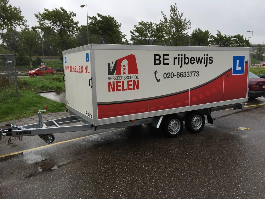 Proline lesaanhanger les aanhangwagen Aanhangwagens Zuid-Holland gesloten 2.0