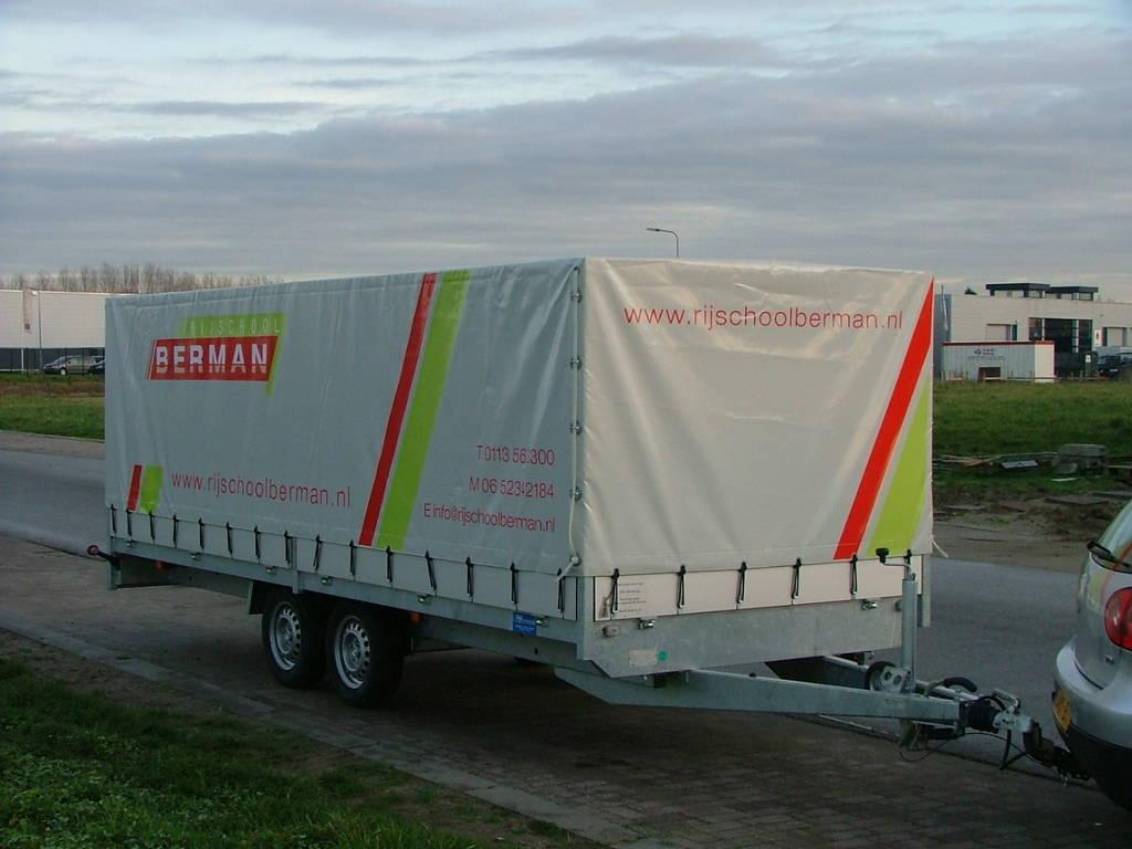 Proline lesaanhanger les aanhangwagen Aanhangwagens Zuid-Holland voorkant overzicht 2.0
