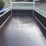 Loady enkelas 250x130cm bakwagens enkelas Aanhangwagens Zuid-Holland bodemplaat 3.0