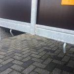 Loady enkelas 250x130cm bakwagens enkelas Aanhangwagens Zuid-Holland touwhaken 3.0