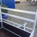Loady enkelas 250x130cm bakwagens enkelas Aanhangwagens Zuid-Holland voorrek 3.0