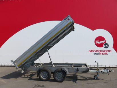 Humbaur kipper 363x185cm 3000kg 2013 Aanhangwagens XXL West Brabant tweedehands hoofd