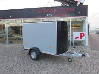 OUTLET Easyline gesloten aanhanger 255x125x155cm 1300kg Aanhangwagens XXL West Brabant hoofd